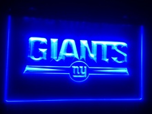 b-35 Giants beer bar pub club 3d signs LED Neon Light Sign man cave(China)