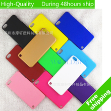 For Apple iPod Touch 5 Touch 6 Ultra Thin Scrub Phone Shell Frosted Plastic Matte Hard Back Case Cover Protective Shell