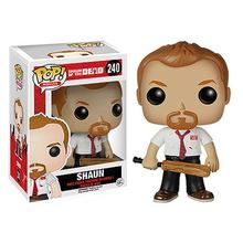 Original FUNKO POP Shaun of the Dead Shaun Pop Vinyl Bobble Head Doll Car Decoration in stock free shipping(China)