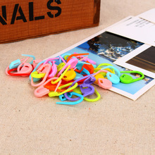 100PCS/Bag Colorful Plastic Knitting Weave Knitting Crochet Locking Stitch Needle Clip Markers Holder