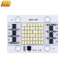 Ming&Ben DIY LED SMD Chip Lamp 20W 30W 50W Light Chip 230V Input Directly Smart IC Fit For DIY FloodLight Cold White Warm White