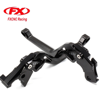 FXCNC 3D New Rhombus Adjustable Motorcycle Brake Clutch Lever For Kawasaki ZZR 400 ZX400N ZZR400 1993-1999 ZXR400 ZXR 400 Brake