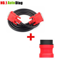Free Shipping Autel MaxiDAS DS708 Main Test Cable + OBD 16Pin Adapter Connector OBD2 16 Pin for ds708 Best Quality