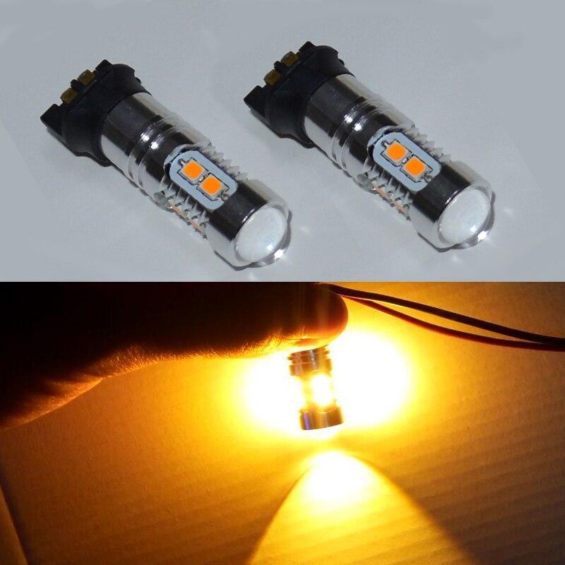 2pcs Error Free PWY24W PW24W LED Bulbs For Audi A3 A4 A5 Q3 VW MK7 Golf CC Front Turn Signal Lights For BMW F30 3 Series DRL<br><br>Aliexpress