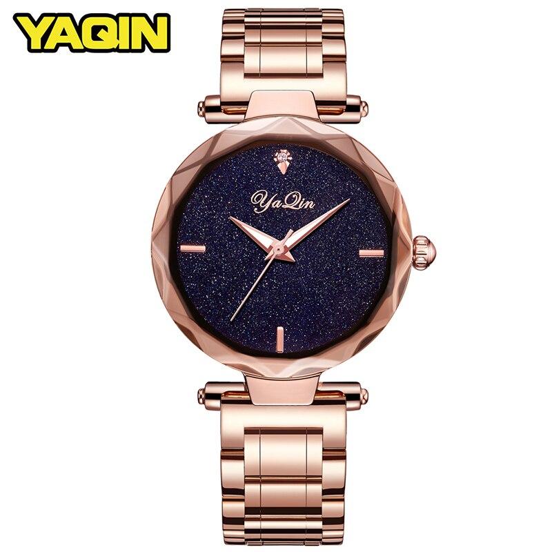 YAQIN women quartz watch lady top brand luxury woman watch business watch girl clock Relogio Feminino Montre Femme Reloj Mujer<br>