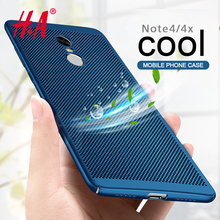 H&A Heat dissipation phone hard Back PC Case For Xiaomi Redmi NOTE 4 4X Pro Full Cover For Redmi NOTE 4X Cases Protect shell