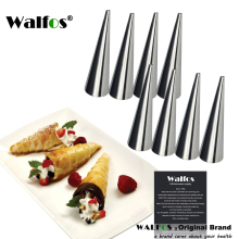 8 pieces Cannoli Forms Stainless Steel DIY Baking Mold Dessert Pastry Cream Molds Cake Kitchen Mold Cooking Tool(China)