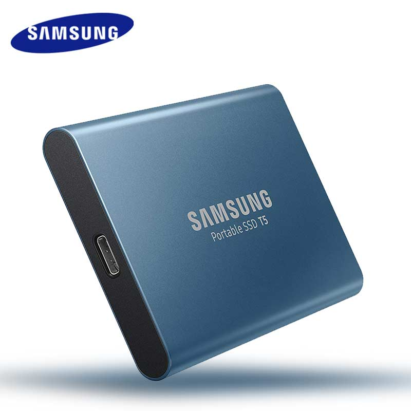 ssd t5 250G usb 3.0 type-c hard disk HD Portable usb 3.1 External Solid State Drives for notlaptop computer drive (1)
