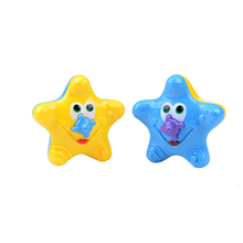 2 Colors 1PCS New Funny Bathing water bath toy starfish BABY sassy toys Swimming toys
