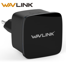 Wavlink N300 Compact Size Mini Wifi Repeater 300Mbps Long Range Extender Wireless N Router Wi fi Repeater EU US Plug with WPS(China)