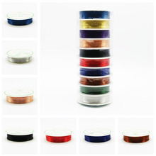 0.3mm Wholesale Price 25M Alloy Copper Wires Cord Silver Gold Plated DIY Craft Beads Rope Beading Wire Bracelet Jewellery Making