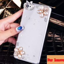 For lenovo S60 S90 S850 S960 A536 A616 K3 K50 P70 P780 S960 VIBE X2 a5000 case Bingbing flower diamond customize cell phone case