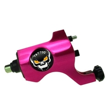 Hot Sales Professional Bishop Rotary Tattoo Machine For Shader and Liner Pink High Quality Fashion Tattoo Machine Free Shipping