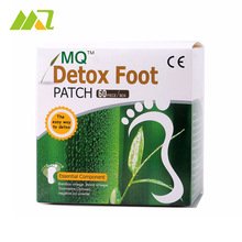 MQ Gold Detox Foot Patch 120 Pieces=60pcs Foot Patches+60 pcs Adhesives Bamboo Vinegar Pads Improve Sleep Beauty Slimming Patch