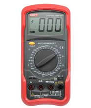 UNIT UT54 digital multimeter genuine original, the transistor test function, measuring frequency, voltage, current, etc.