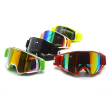 Motocross Glasses Motorcycle Enduro Off-Road Windproof Glasses Goggles CE Certification Sunglass Eyeware Lens(China)