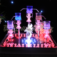2015 new angel champagne tower candlestick wedding props wedding champagne tower Candlestick 2067