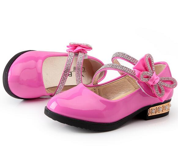 Hot Children Shoes For Girls,Rivets Princess Girl Sandals Kids Leather Shoes Girls Party Shoes<br><br>Aliexpress