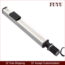 Free shipping Customized 80mm width 600mm stroke linear motion actuators for horizontal and vertical movement(China)