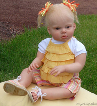 "Reborn baby doll kit DIY A Lifelike 26-28""  Doll reborn Silicone Vinyl Toddler Doll Kits Head Arms Legs"
