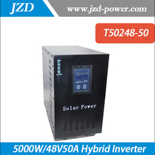 Hybrid Inverter  5000W/48V50A Pure sine wave  Inverter with Solar Charger Controller Use in Solar power System