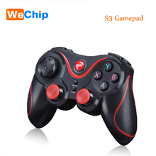 T3 Bluetooth Wireless Gamepad Game Controller Joystick for Android Smartphone Tablet PC TV BOX 3D Glasses VR BOX S3