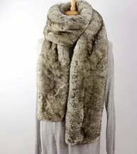 Free shipping New the autumn winter 2015 scarf, super long imitation fur shawl collar, wool collar to keep warm, brown and gray