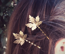 Timlee H140 Free shipping  Grace Fashion Maple Leaf Hair Clip Barrettes Girls Lovely Hair Accessary Gift