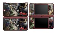 Zelda 349 Vinyl Skin Sticker Protector for Nintendo DSI XL LL for NDSI XL LL skins Stickers