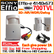 "2017Style Probe 1/3""Sony CCD Effio-E 4140dsp Real 700TVL Mini Hidden Hd Cctv Camera Security Surveillance Ahdl Products OSD MENU"