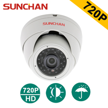 SUNCHAN AHD 1/4 CMOS 3.6MM 1200TVL CCTV Lens Indoor High Resolution Dome Security Dome CCTV Camera Surveillance Camera(China)