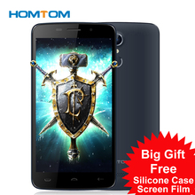 Homtom HT17 MTK6737 Android 6.0 Touch Screen Hot Selling Smart 5.5 inch 1GB RAM 8GB ROM 13.0MP fingerprint 4G LTE Cell Phone(China)