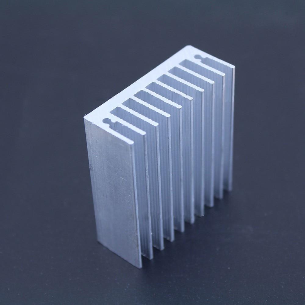 1 Pc 504518mm Heatsink Sirip Pendingin Radiator 10 X 10mm Aluminium Cooling Heat Sink Gratis Pengiriman