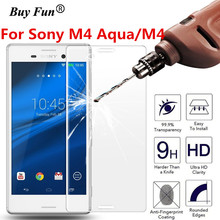 Screen Protector Tempered Glass For Sony Xperia M4 Aqua M4 E2303 Dual E2312 2.5 9H Phone Premium Protective Film Case Guard