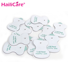 New 30pcs/lot White Electrode Pads for Tens Acupuncture Good Quality ,Digital Therapy Machine Massager Health pads for JR 309(China)