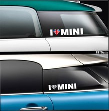 High-quality case for MINI COOPER Cluman Countryman decoration MINI I LOVE MINI car sticker styling(China)