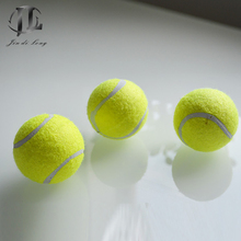 2017 New Harmless Non-Toxic Food Grade Rubber Pet Dog Playing Bouncy Tennis Ball,Funny Elastic Balls(China)
