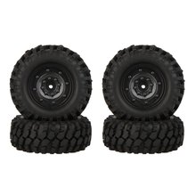 EBOYU(TM) 4pcs High Performance 1/10 Climber Off-road Car Wheel Rim and Tire 210057 for Traxxas HSP Tamiya HPI Kyosho RC Car