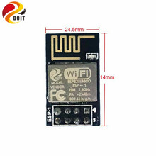 DOIT 5pcs/lot ESP8285 ESP-1 Serial Wireless WiFi Transmission Module Fully Compatible with ESP8266(China)