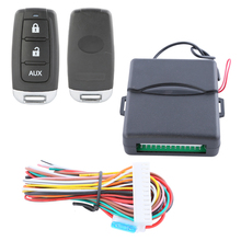 Hot style! Universal car keyless entry kit remote central door control, remote car locating and negative power window output(China)