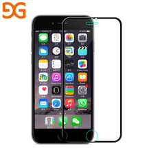 Buy GUSGU 3D 9H curved edge full cover tempered glass iPhone 7 8 Plus Screen protector anti-Blue light protective film for $2.56 in AliExpress store