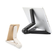 Zimoon Folding Universal Tablet Bracket Stand Holder Lazy Pad Support For iPad 2/3/4 iPad Air 1/2 iPad Mini Samsung Xiaomi(China)