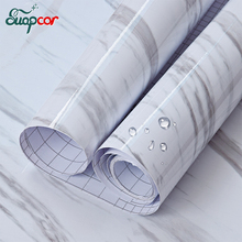 0.6*3M /5M Waterproof PVC Wall Sticker Bedroom Window Sill Self adhesive Decorative Wallpaper Bathroom Furniture Marble Stickers(China)