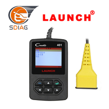 Latest Launch CReader 401 Code Reader Diagnostic Scanner tool CR401 car detector Meet all OBDII/EOBD protocols free update(China)