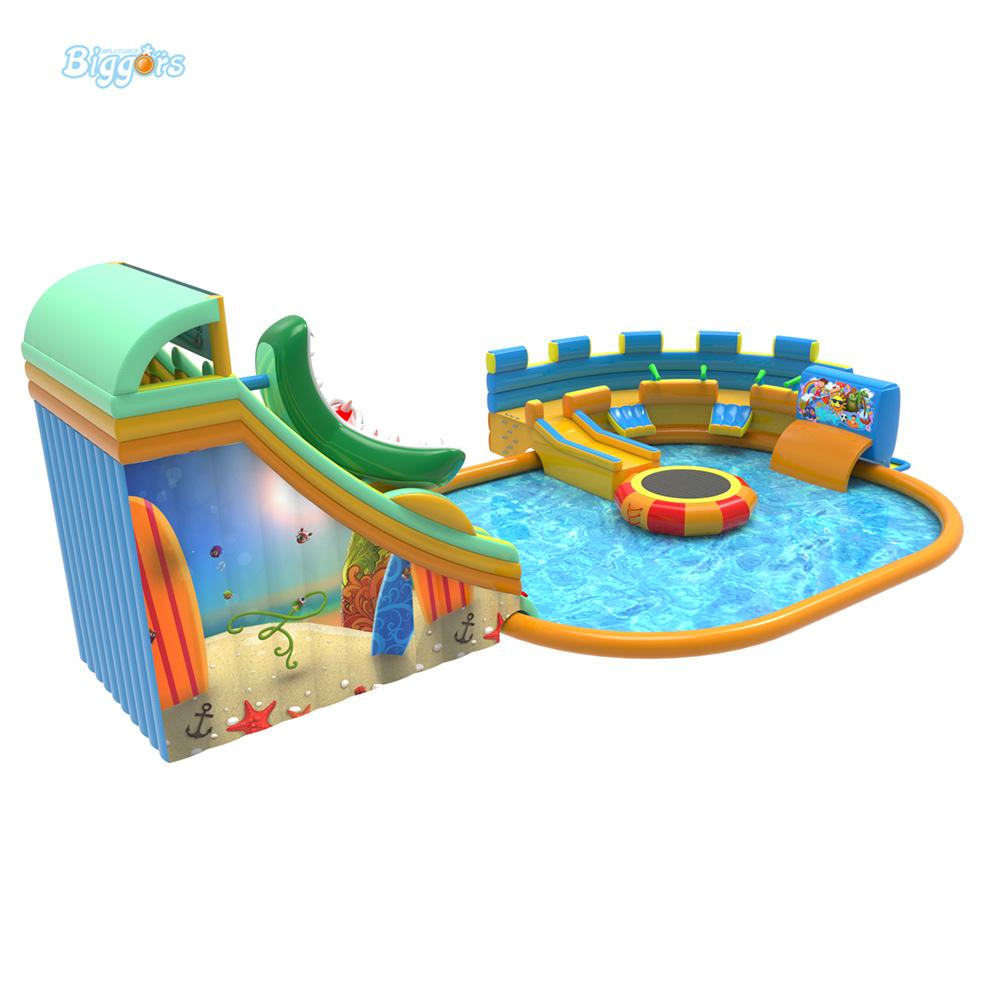 Inflatable pool slide (4)