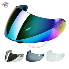 1 Piece Iridium Smoke Chrome Motorcycle Helmet Visor Lens Face Shield Case AGV K3 SV K3-SV K5 Helmet Visor