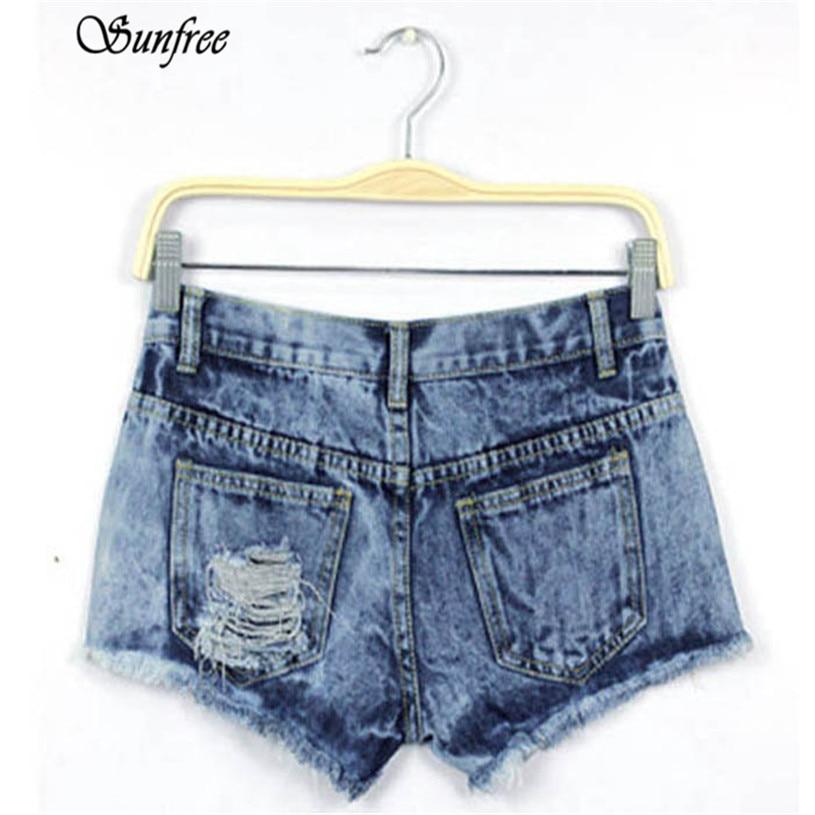 Sunfree 2017 1PC Women Summer Fashion Vintage Denim Low Waist Jean Shorts Hot Pants Brand New High Quality Jan 3Îäåæäà è àêñåññóàðû<br><br><br>Aliexpress