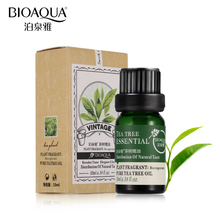 BIOAQUA Brand Natural Tea Tree Oils Anti-acne Face Body Skin Care Hair Care Fragrance Aromatherapy Massage Pure Essential Oil(China)