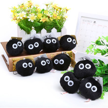 My Neighbor Totoro Fairydust Plush Toy Doll with Ring Soft Stuffed Doll 10pcs/lot Free Shipping(China)