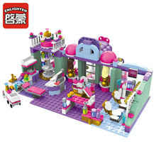 ENLIGHTEN City Girls Beautiful styling Center Building Blocks Sets Bricks Model Compatible Friends Kids Gift Toys(China)